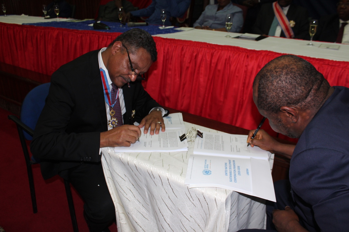 Government of Liberia, UN and Development Partners Sign 5-Year Sustainable Development Cooperation Framework in Support of the Pro Poor Agenda for Prosperity and Development
