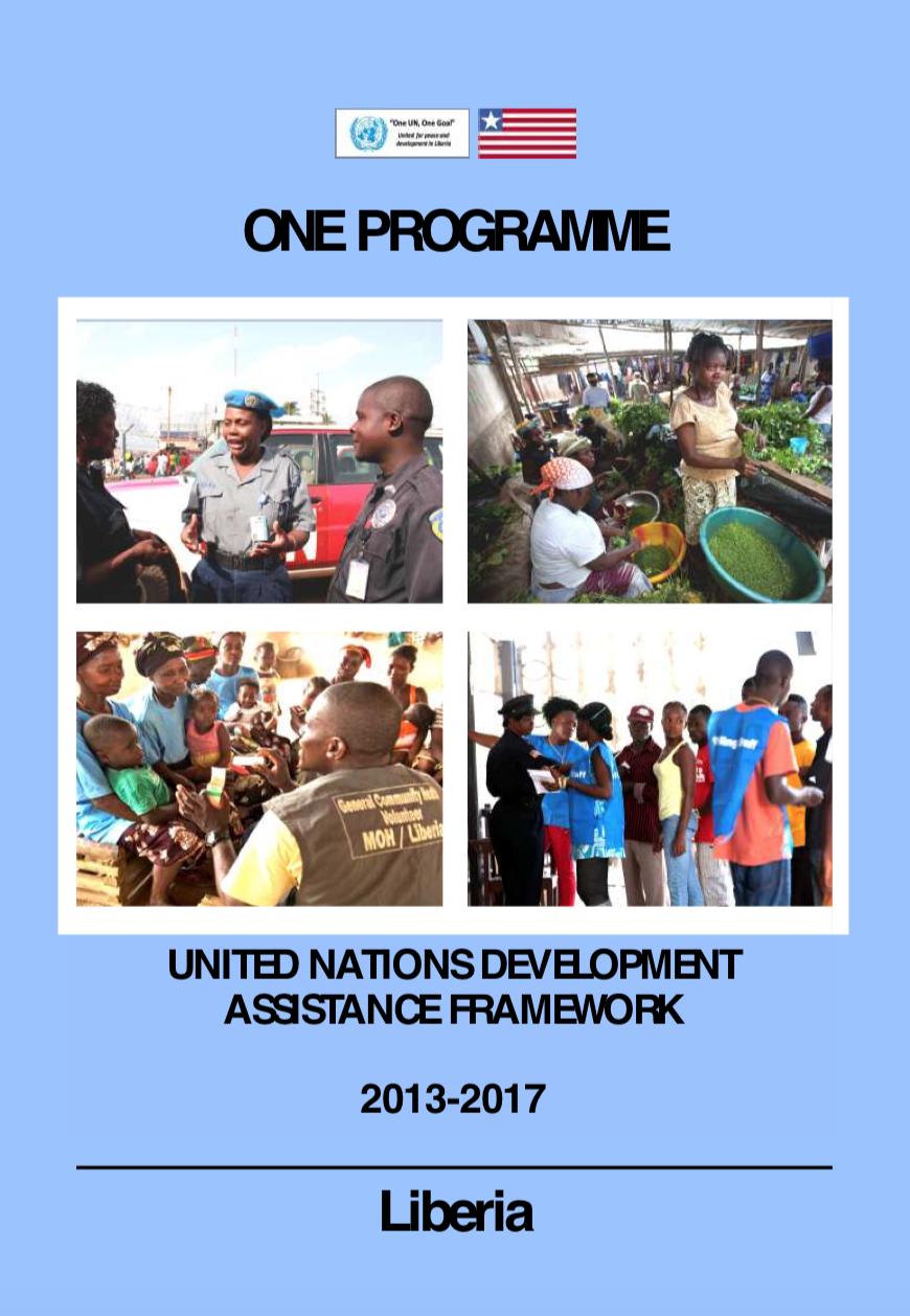 Liberia UNDAF 2013-2017