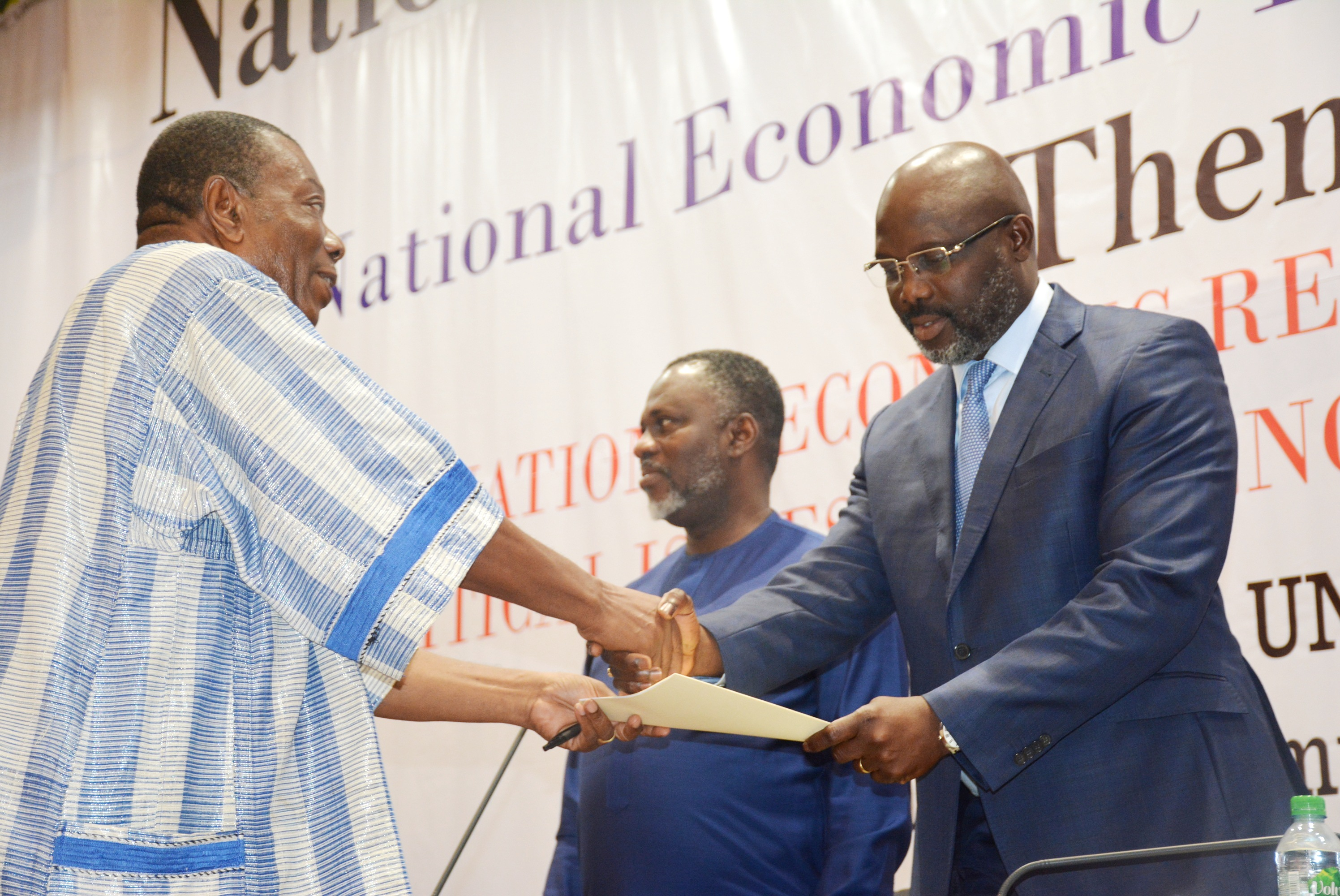 Finding Economic Solution: President George Manneh Weah commits to implementation of National Dialogue Recommendations