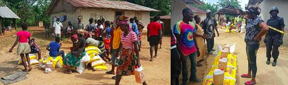 COHFSP distribution in Todee District