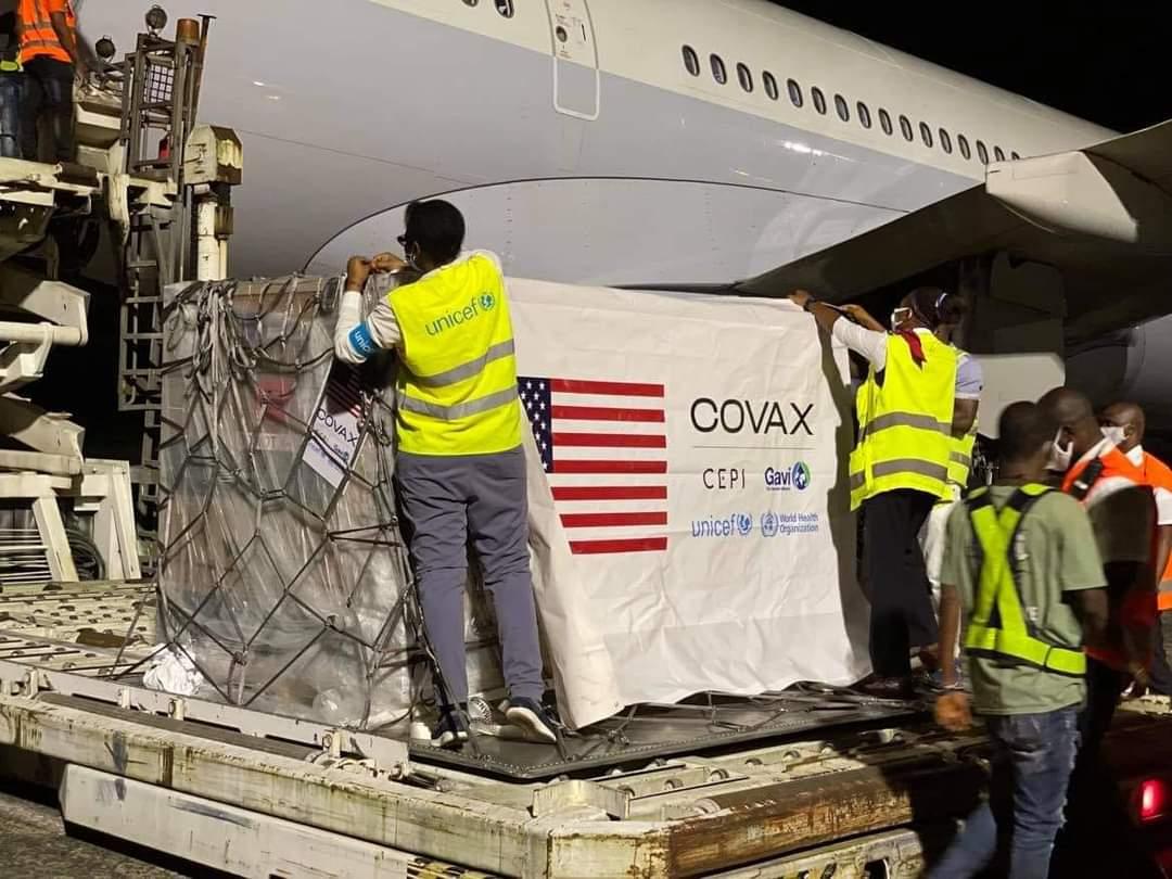 Liberia receives over 300,000 Johnson & Johnson COVID 19 Vaccines through COVAX Facility