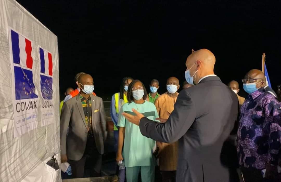 Second shipment of 96,000 doses of AstraZeneca Vaccine Arrives in Liberia Via COVAX