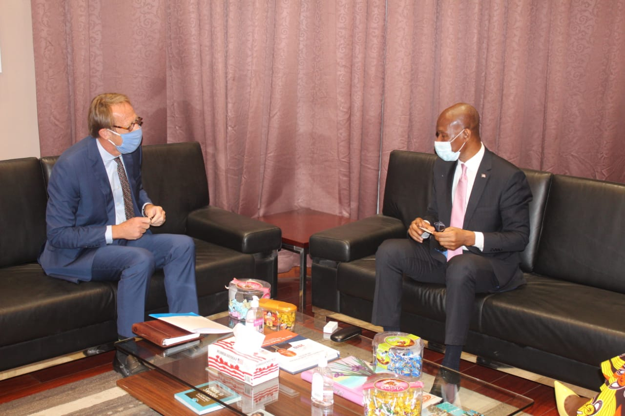 UN Resident Coordinator Pays a Courtesy Call on the Honorable Speaker of the House of Representative