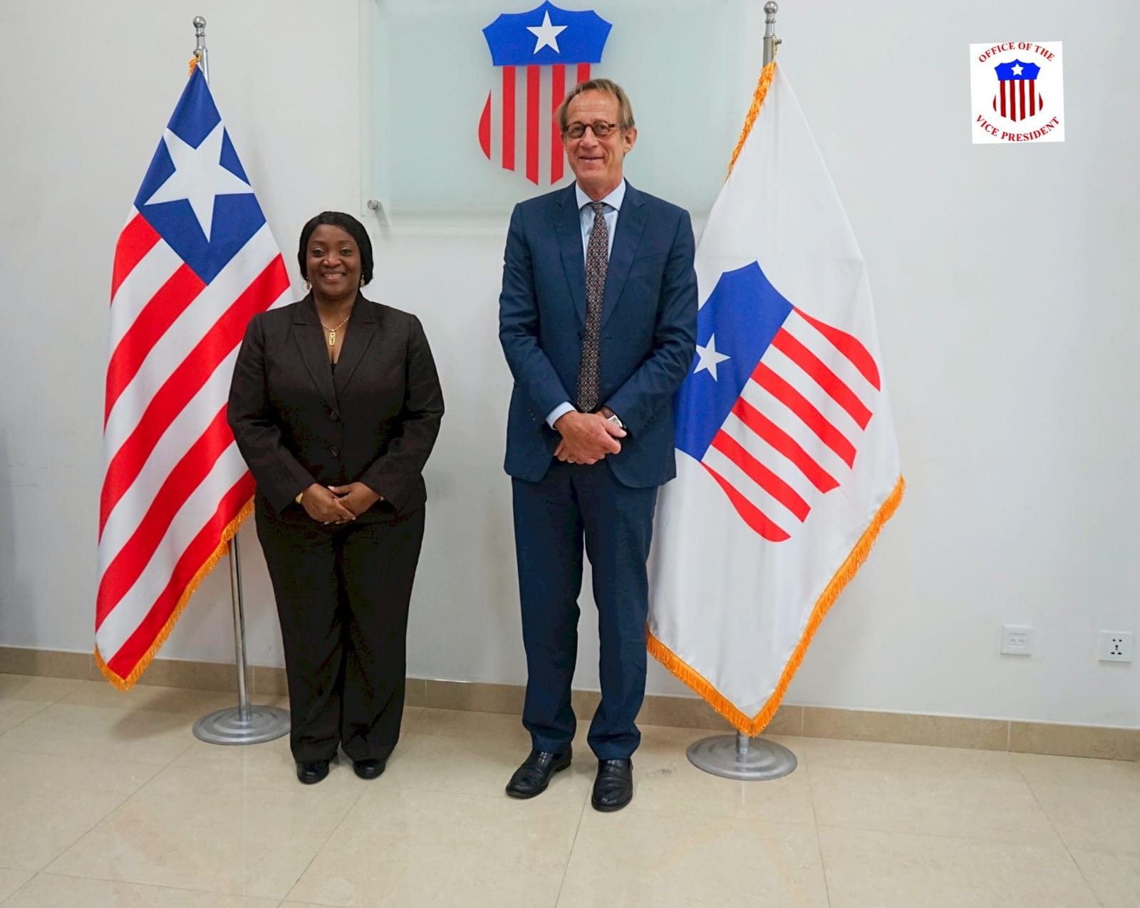 Resident Coordinator of the UN in Liberia Holds Meeting with the Liberian Vice President